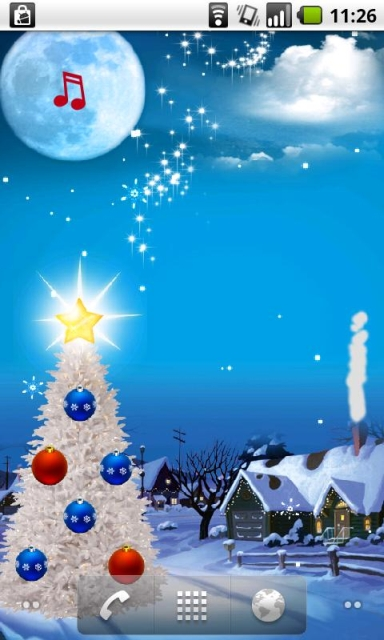 Christmas Live Wallpaper Android Free