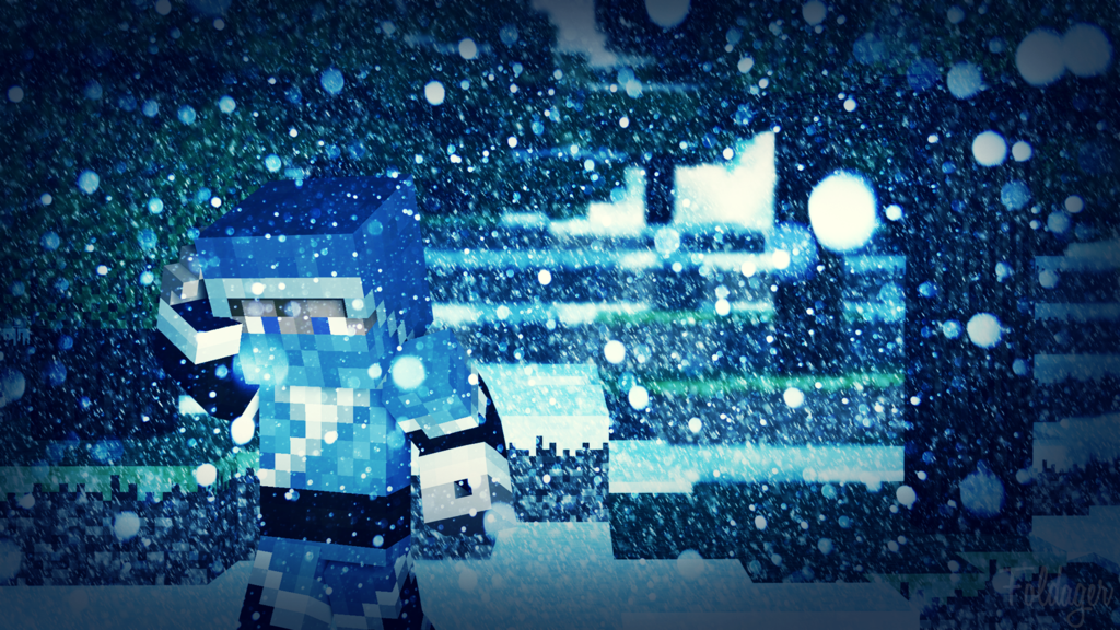 Christmas Minecraft Wallpaper