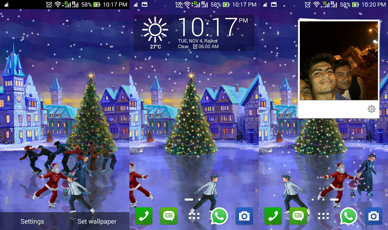 download christmas rink live wallpaper gallery