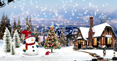 Christmas Santa Lite Live Wallpaper