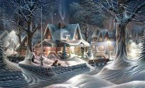 Christmas Scenery Wallpaper