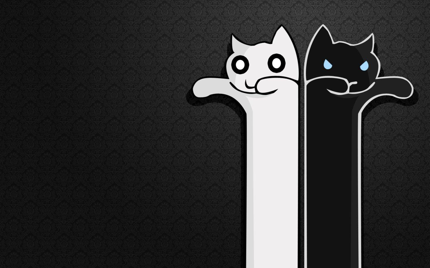 Cute Black And White Wallpapers
