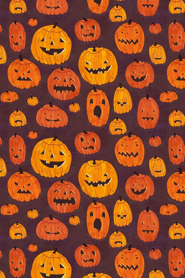 Cute Pumpkin Halloween Wallpaper