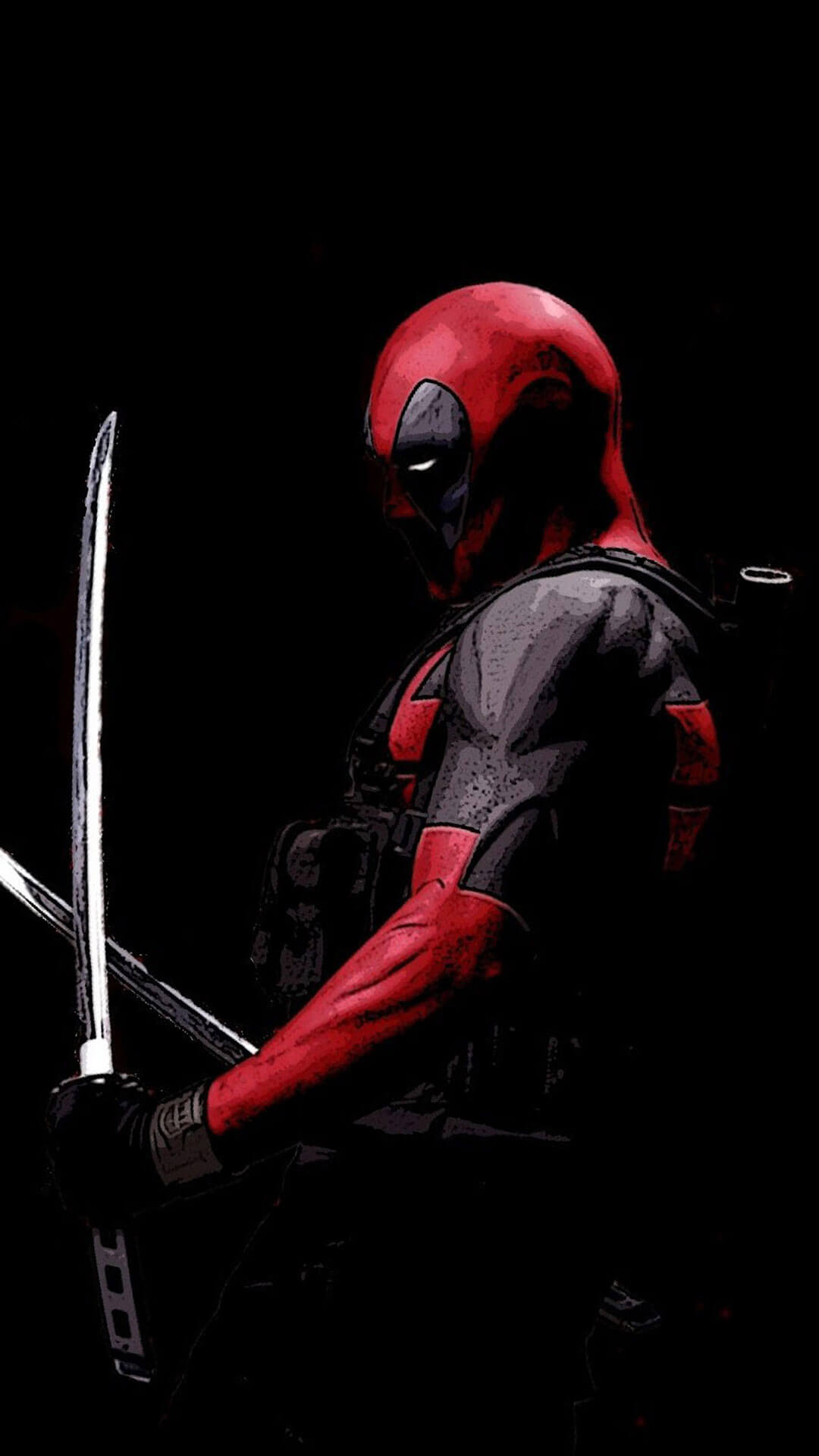 Deadpool Iphone 5 Wallpaper