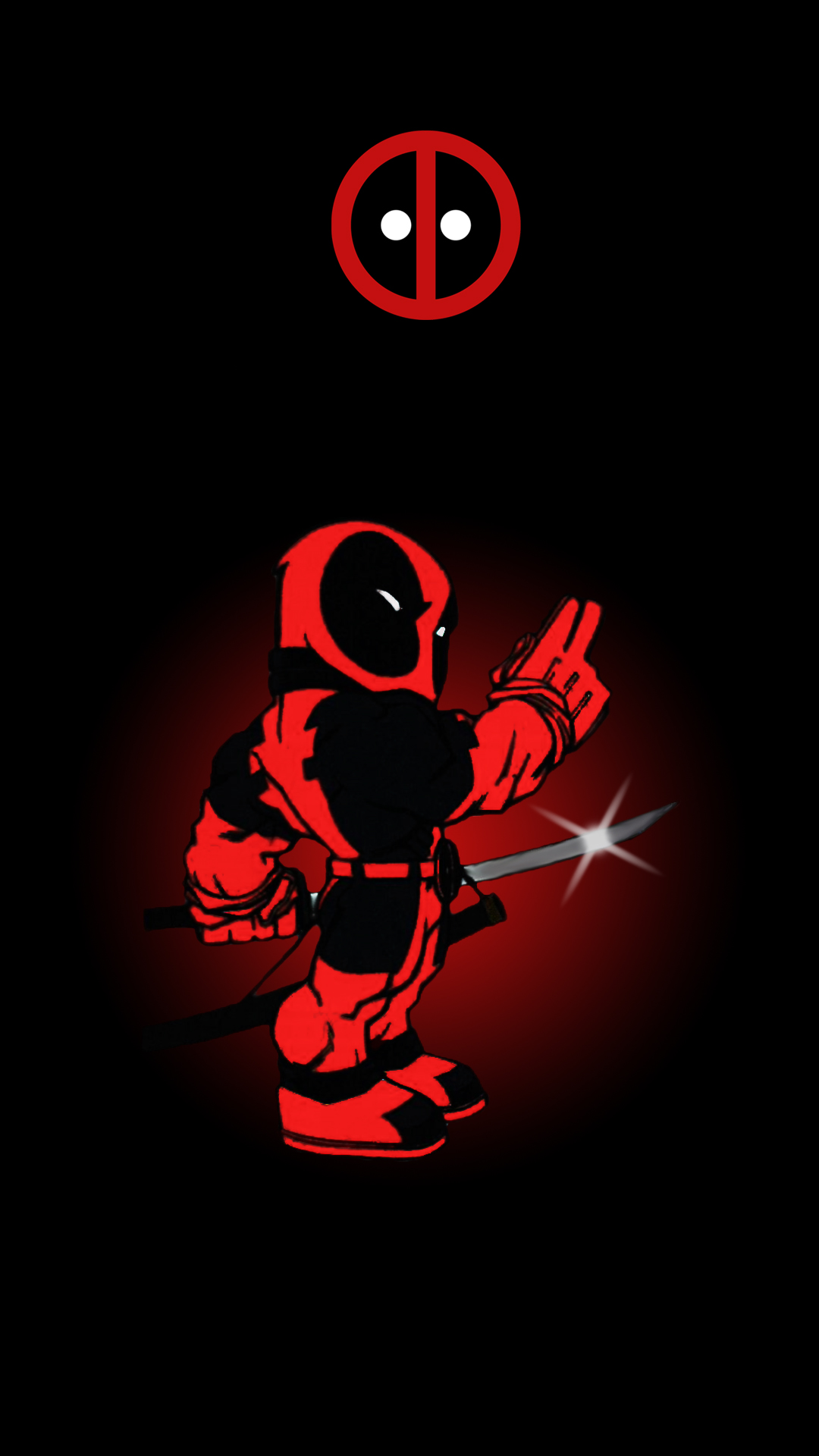 Deadpool Mobile Wallpaper