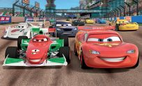 Disney Cars Mural Wallpaper