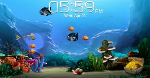 Fish Live Wallpaper Free