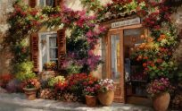 Flower Shop Wallpaper