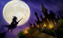 Free Halloween Witch Wallpaper