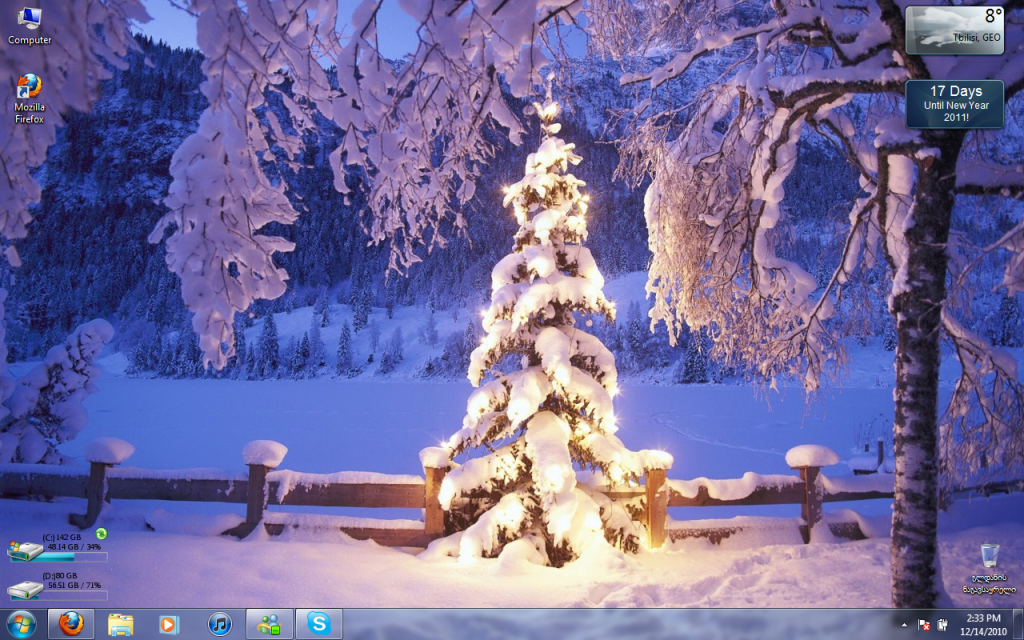 Free Live Christmas Wallpaper For Desktop