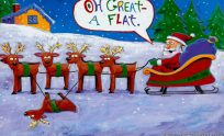 Funny Christmas Wallpaper