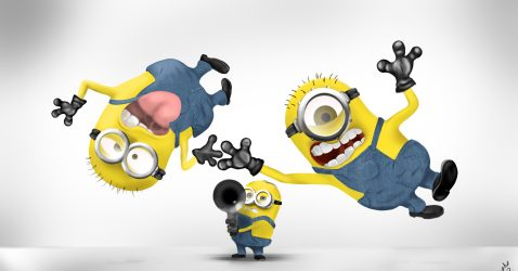 Funny Minion Wallpapers