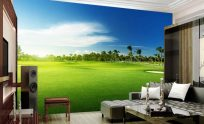 Golf Mural Wallpaper