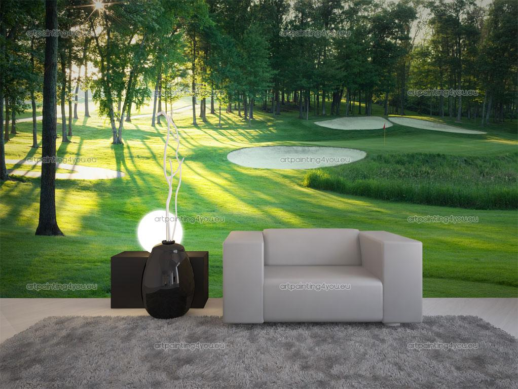 Golf Wall Mural Images home design wall stickers