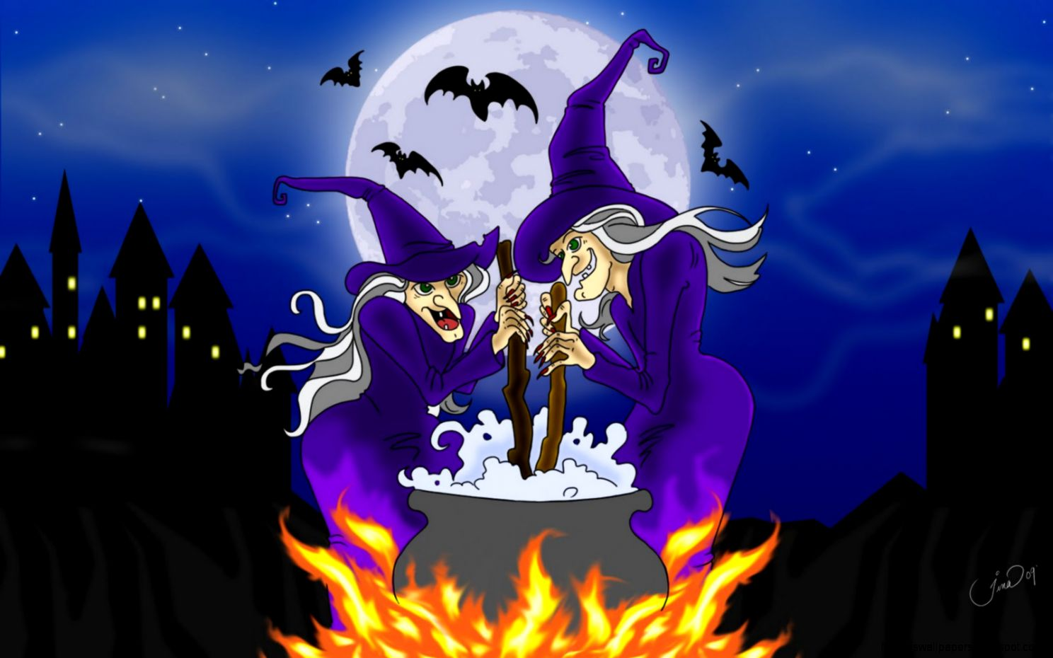Download halloween wallpaper screensavers gallery - Scary halloween screensavers animated ...