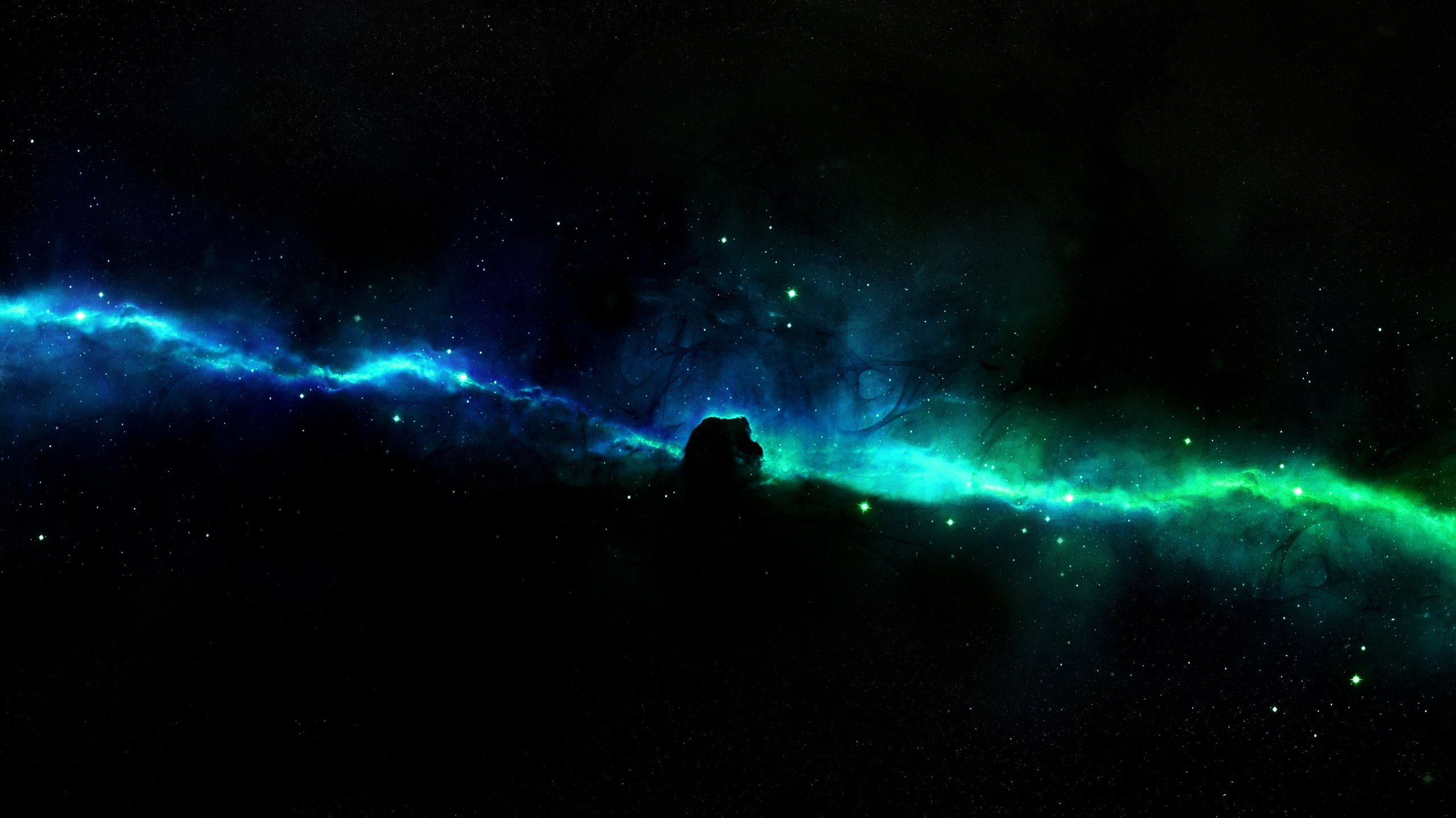 High Resolution Space Wallpaper 2560x1440