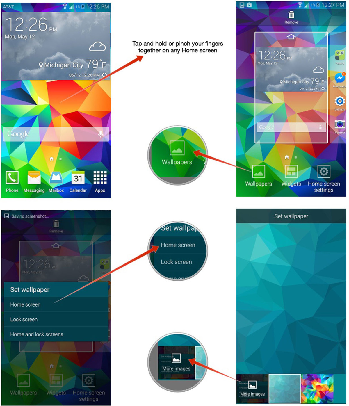 How To Change Wallpaper On Samsung Galaxy