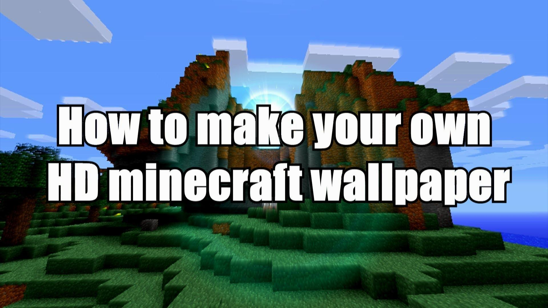 download how to make your own minecraft wallpaper gallery. Black Bedroom Furniture Sets. Home Design Ideas