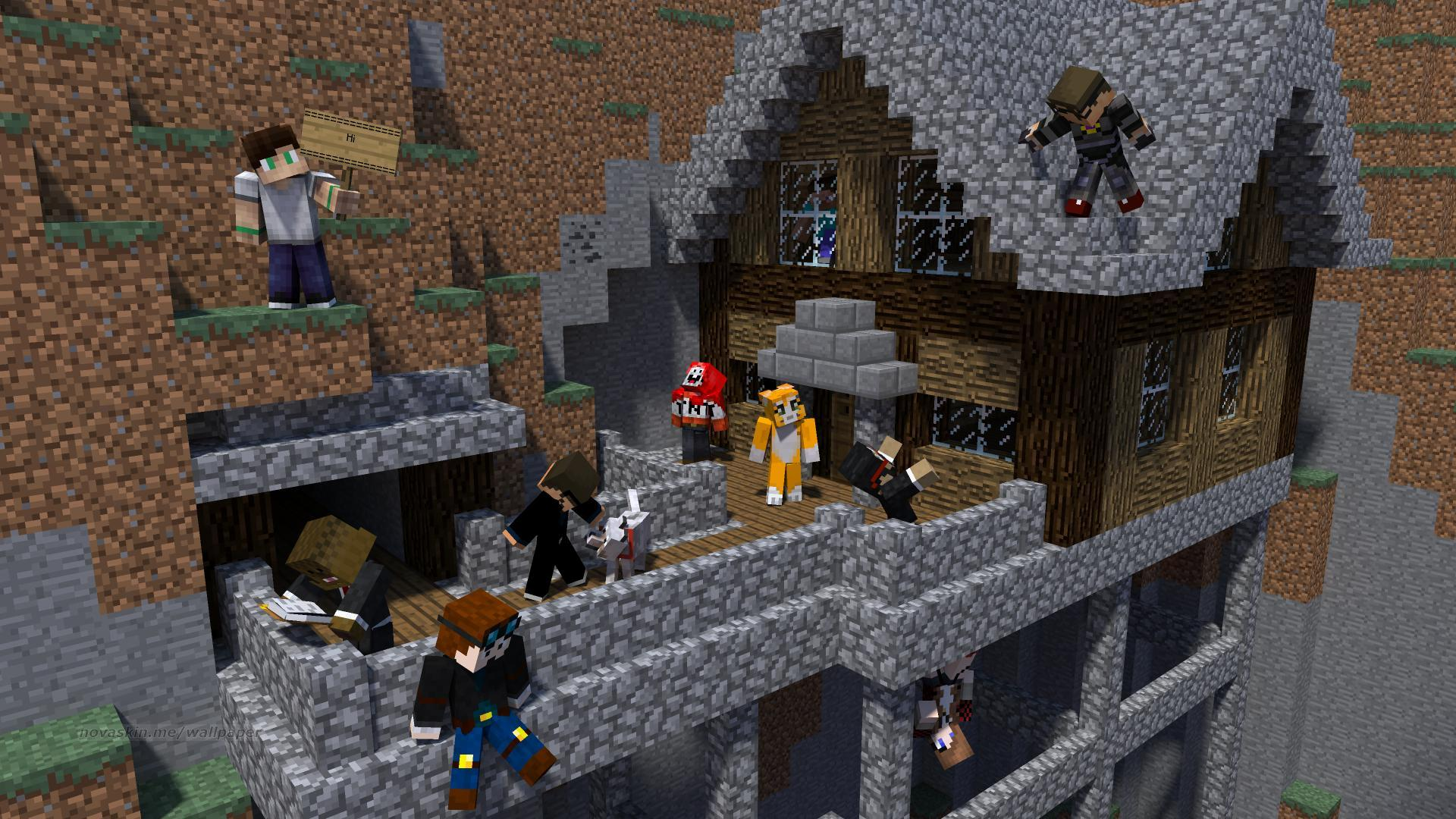 How To Make Your Own Minecraft Wallpaper
