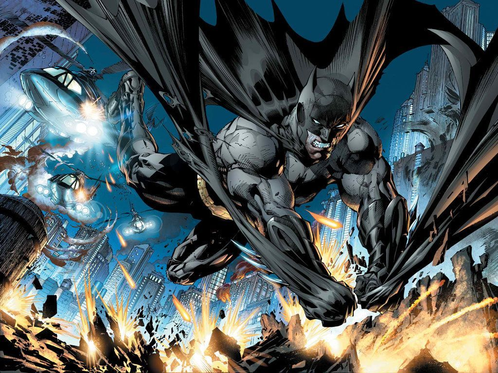 Jim Lee Batman Wallpaper