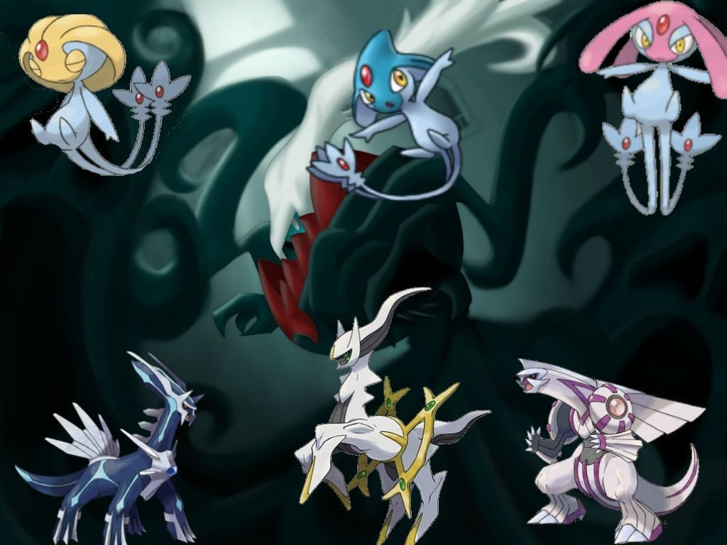 Legendary Pokemon Wallpapers For Computer