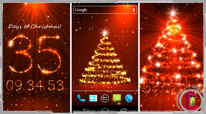 download live christmas countdown wallpaper gallery