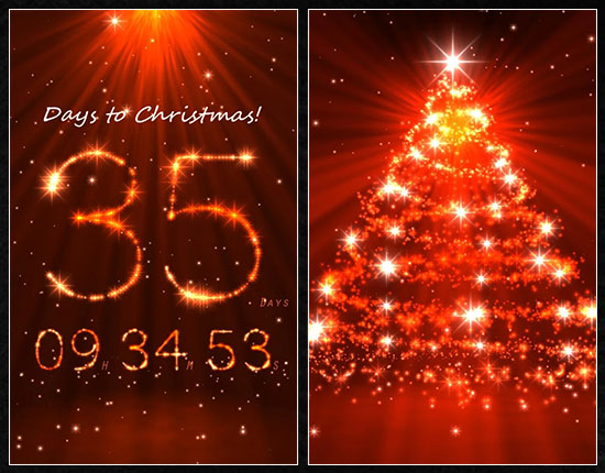 Download live christmas countdown wallpaper gallery - How to make a countdown your wallpaper ...