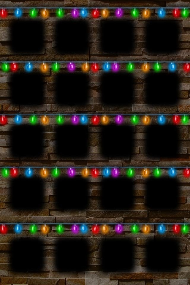 Live Christmas Lights Wallpaper