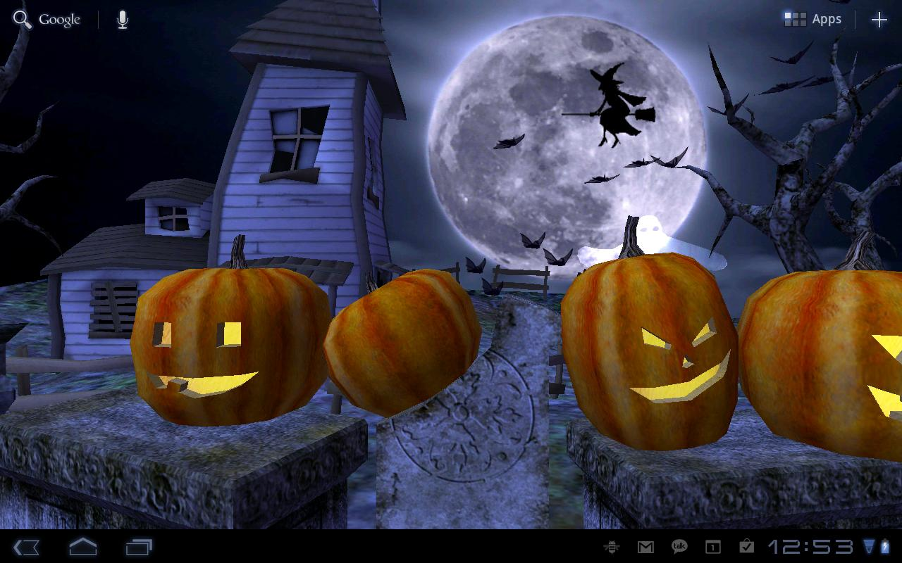 Live Halloween Wallpaper