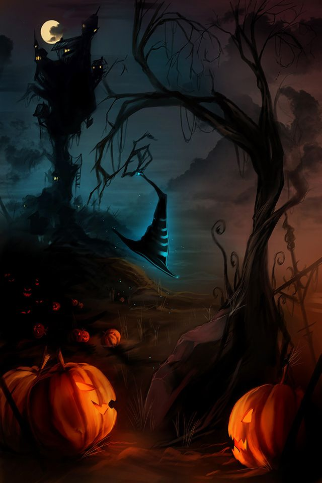 Live Halloween Wallpaper For Iphone
