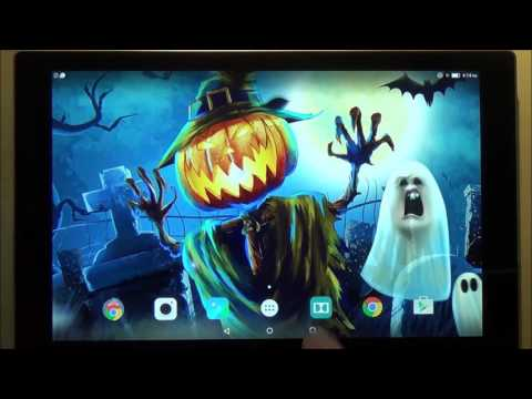 Live Halloween Wallpaper With Sound
