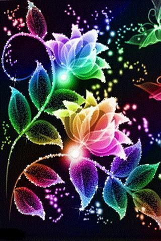 Live Wallpaper Of Flowers