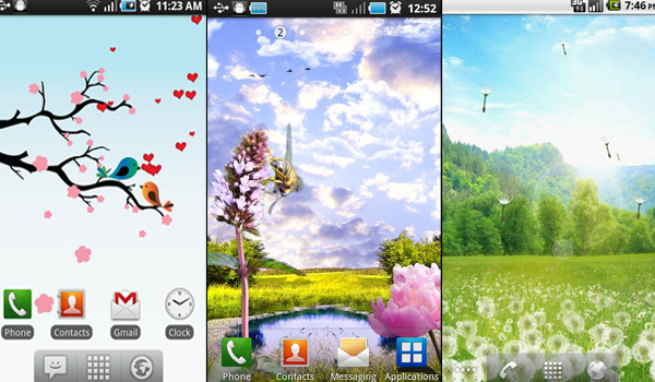Live Wallpapers Free For Android