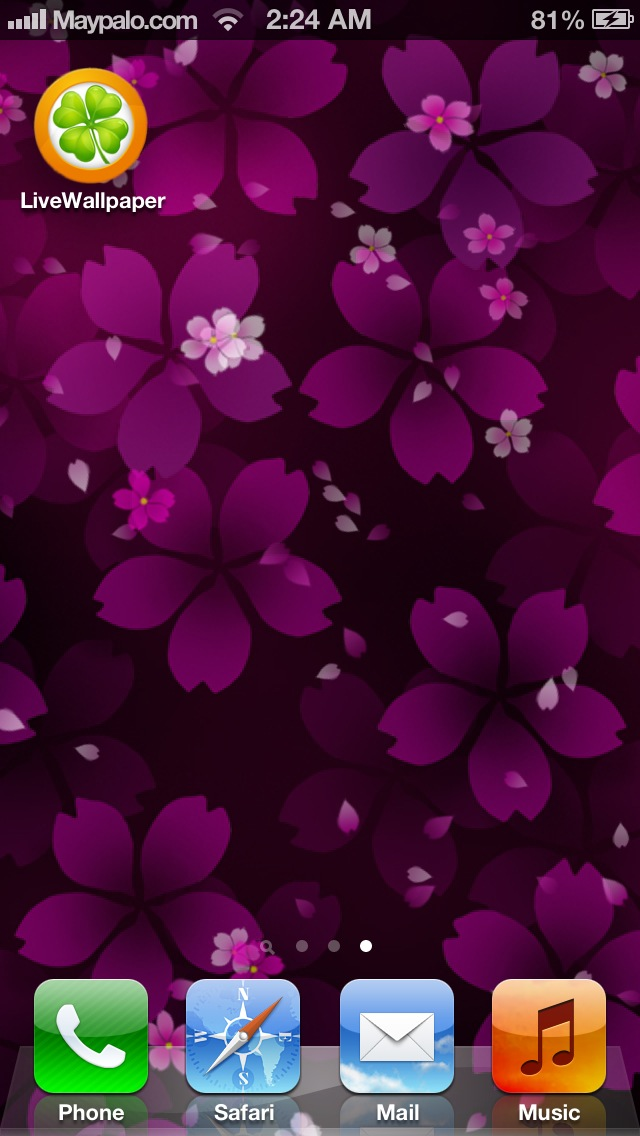 Living Wallpaper For Iphone
