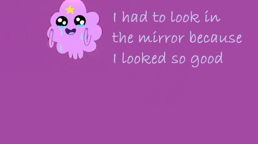 Lumpy Space Princess Wallpaper