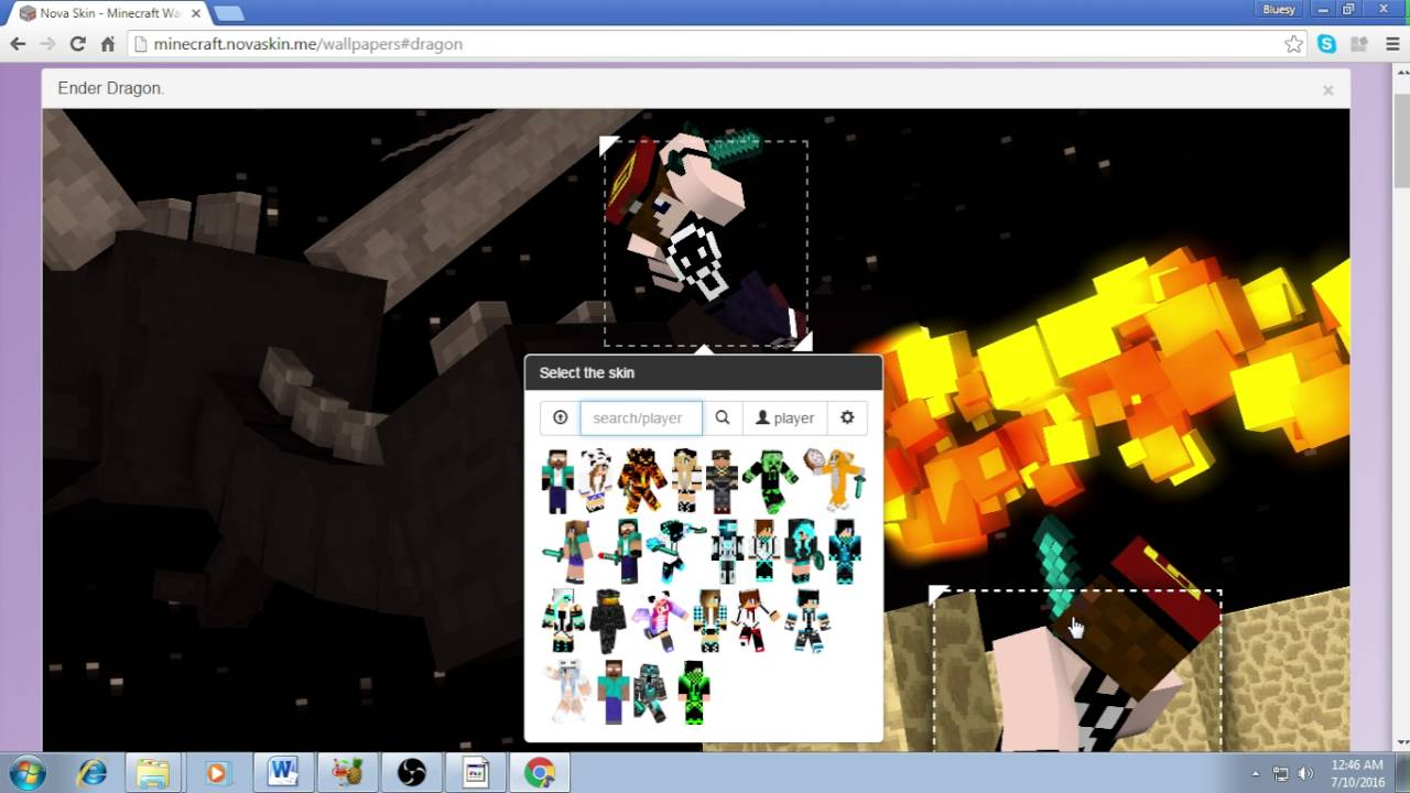download make your own minecraft wallpaper gallery