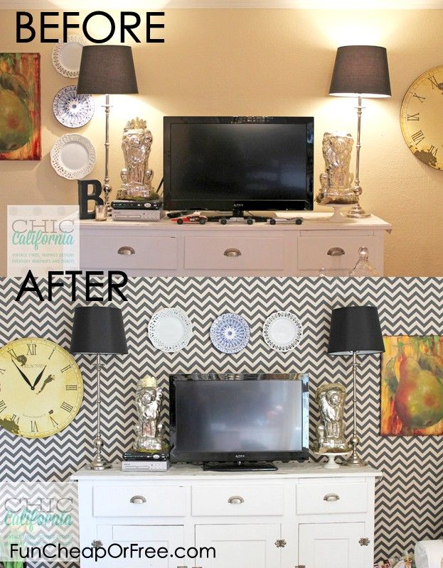 Make Your Own Removable Wallpaper