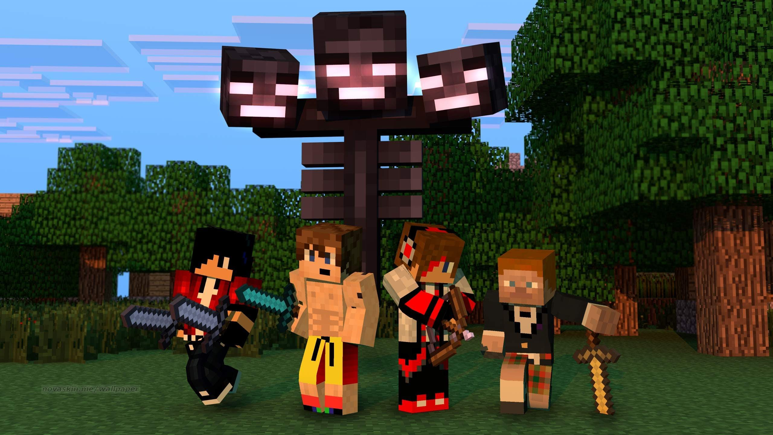 Download Minecraft Animation Wallpaper Gallery
