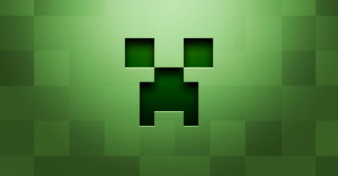 Minecraft Creeper Face Wallpaper
