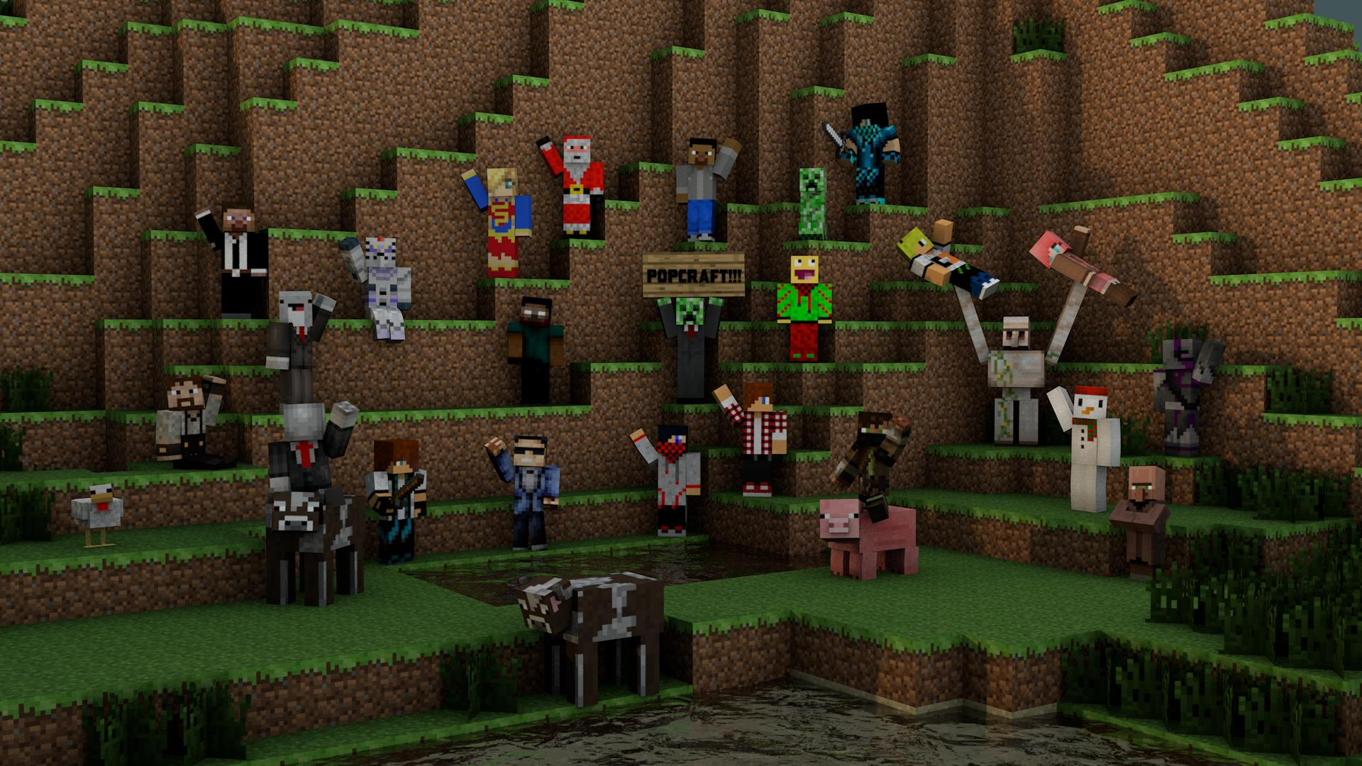 Download Minecraft Player Wallpaper Gallery