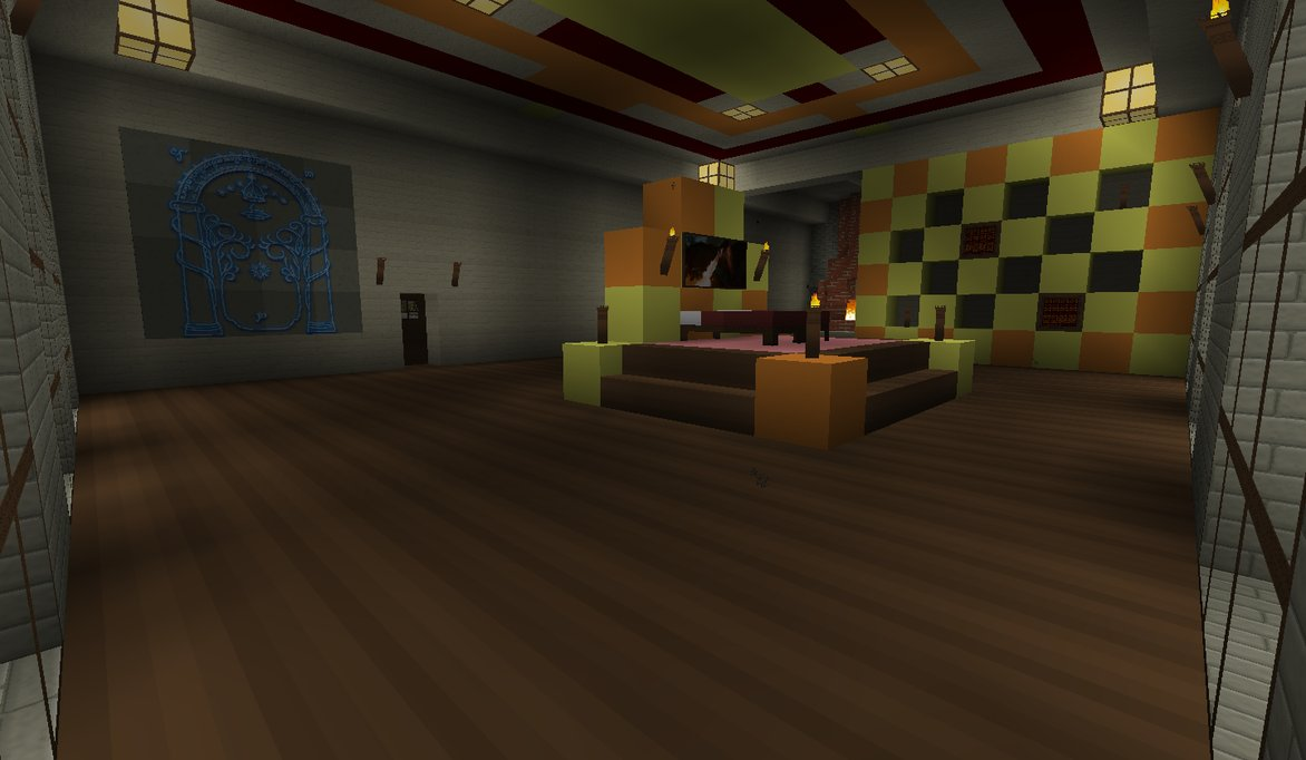 Minecraft Room Wallpaper
