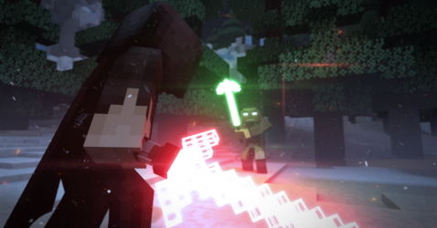 Minecraft Star Wars Wallpaper