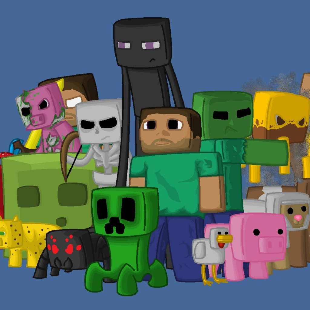Download Minecraft Wallpaper For Ipad Gallery