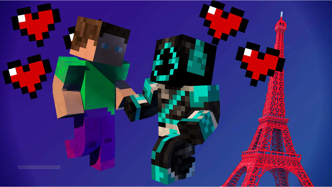 Minecraft Wallpaper With Your Skin