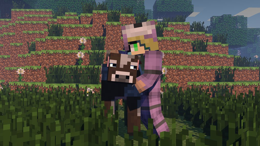 Minecraft Wallpapers With Custom Skins