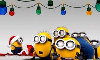 Minion Christmas Wallpaper