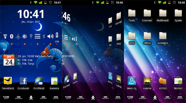 Multipicture Live Wallpaper