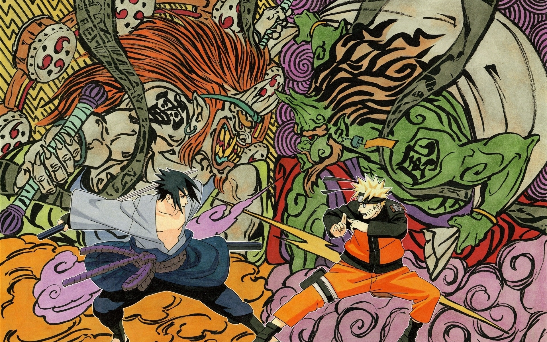 Naruto Art Wallpaper