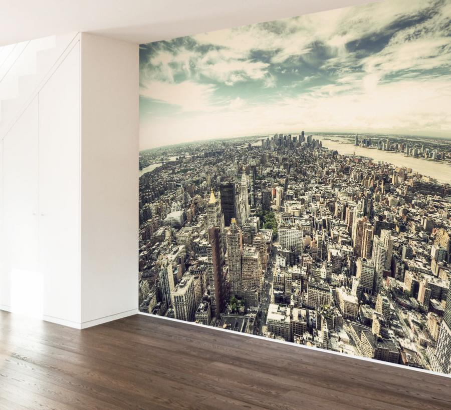 Download new york city wallpaper mural gallery for City wallpaper mural