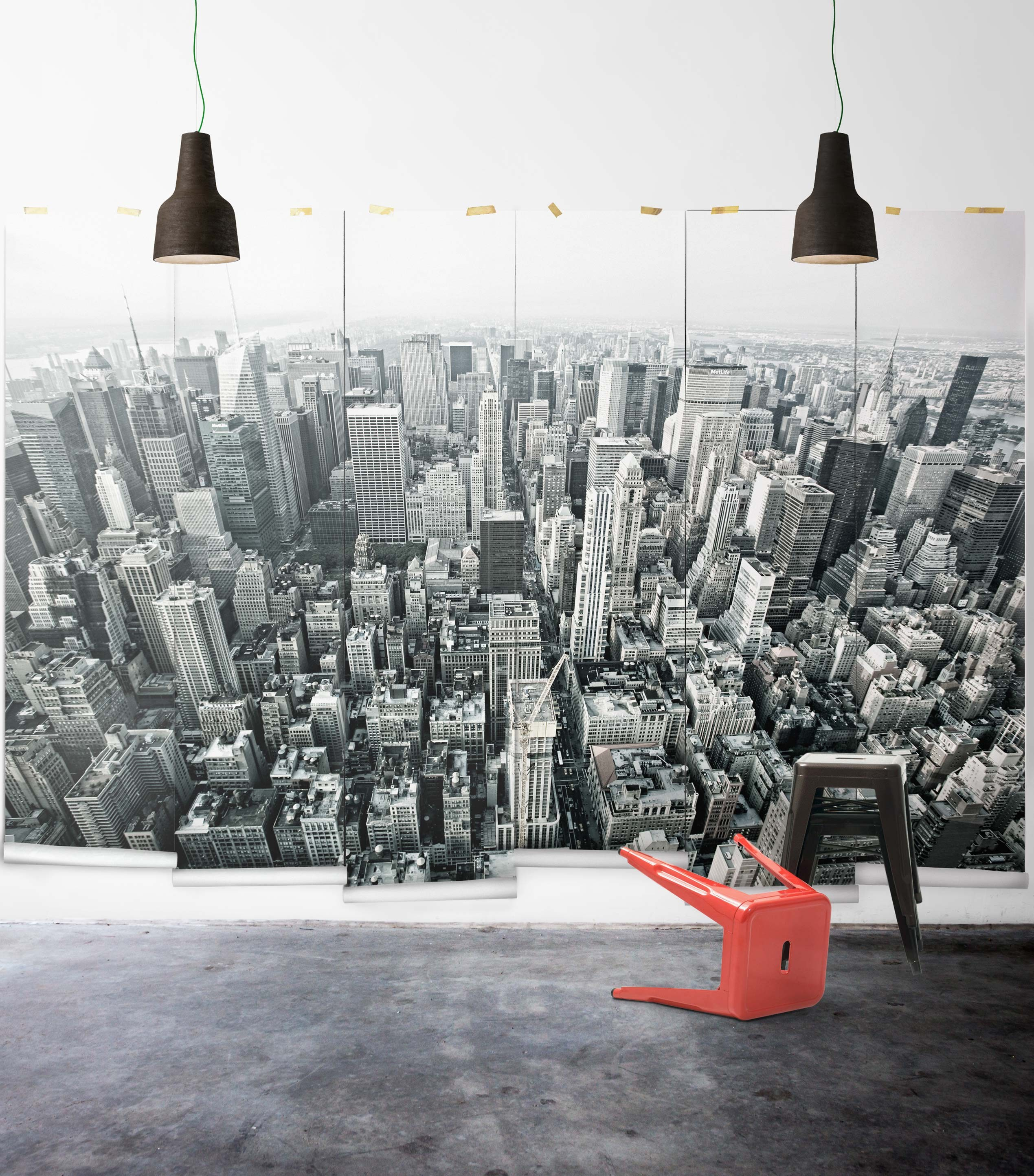New York Wallpaper Murals